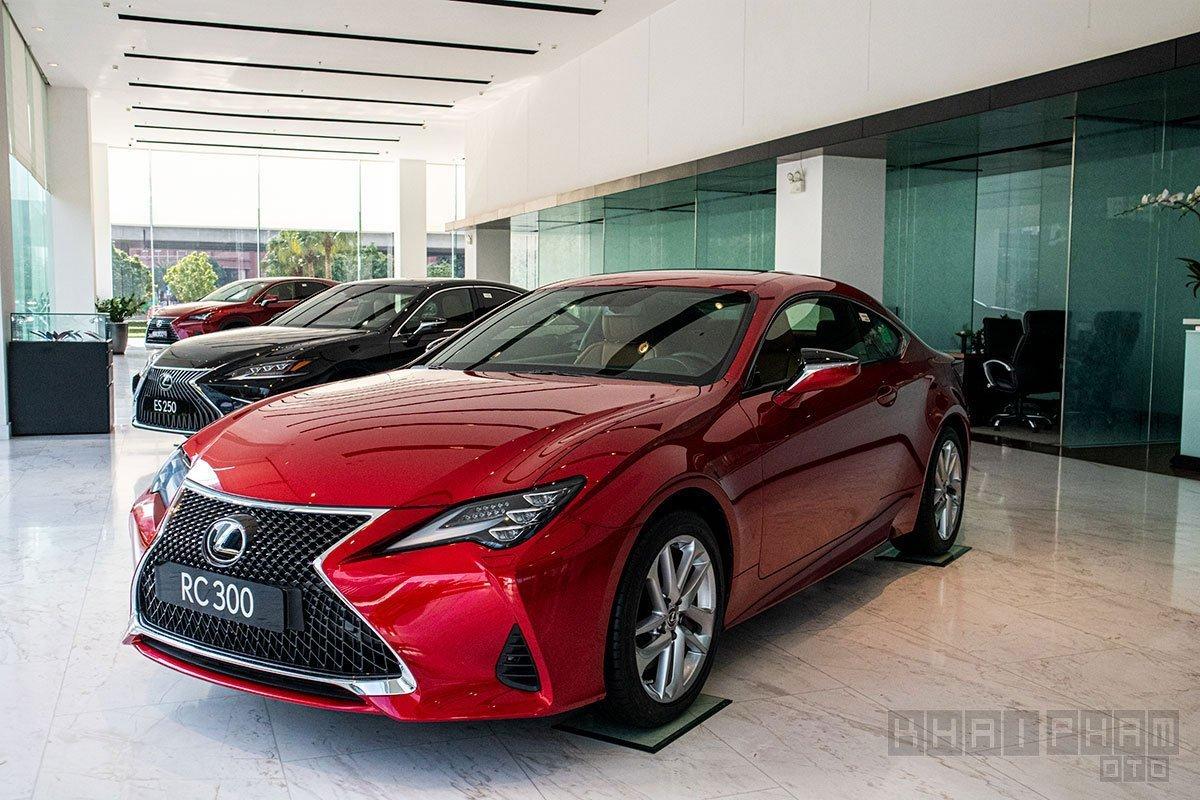 Giá xe Lexus RC mới nhất.