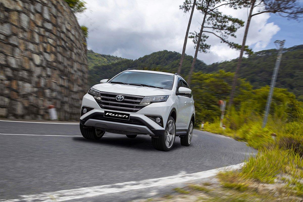 Bảng giá bán xe Toyota Rush cập nhật