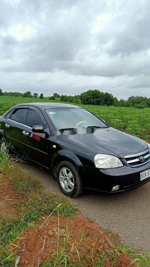 Bán xe Daewoo Lacetti đời 2008, màu đen (9)