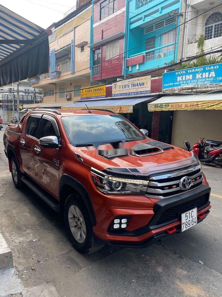 Bán Toyota Hilux 3.0G năm sản xuất 2016, màu đỏ, xe nhập   (6)