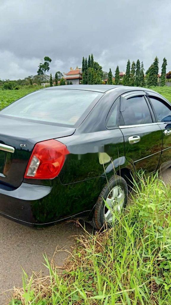 Bán xe Daewoo Lacetti đời 2008, màu đen (5)