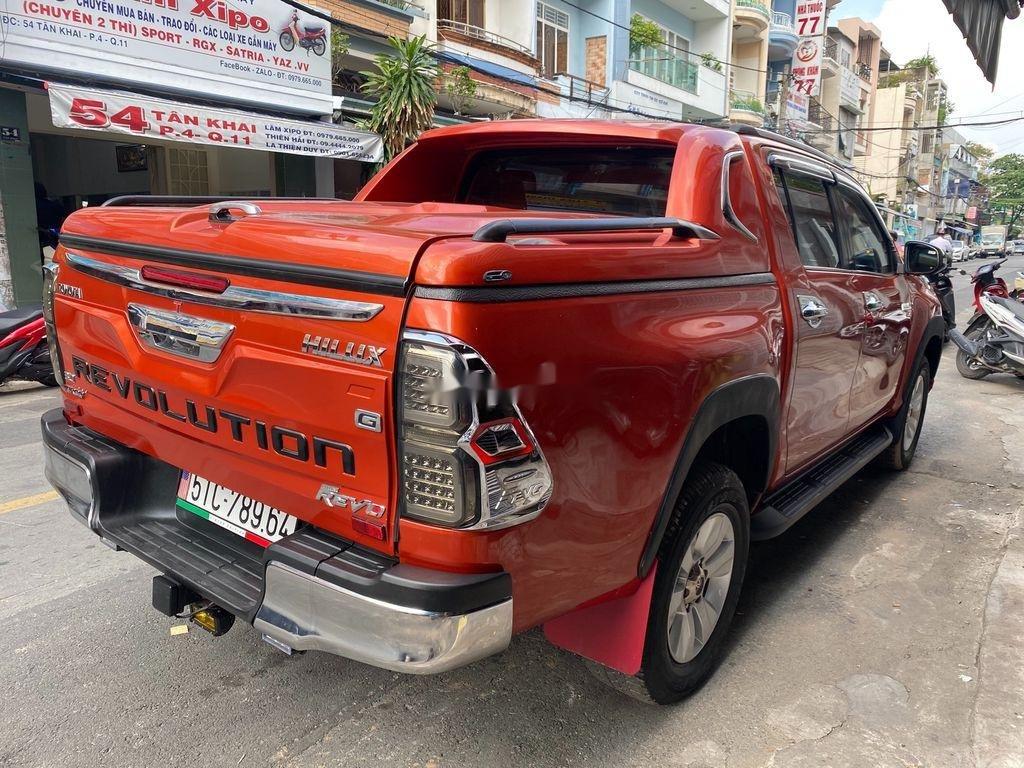 Bán Toyota Hilux 3.0G năm sản xuất 2016, màu đỏ, xe nhập   (7)
