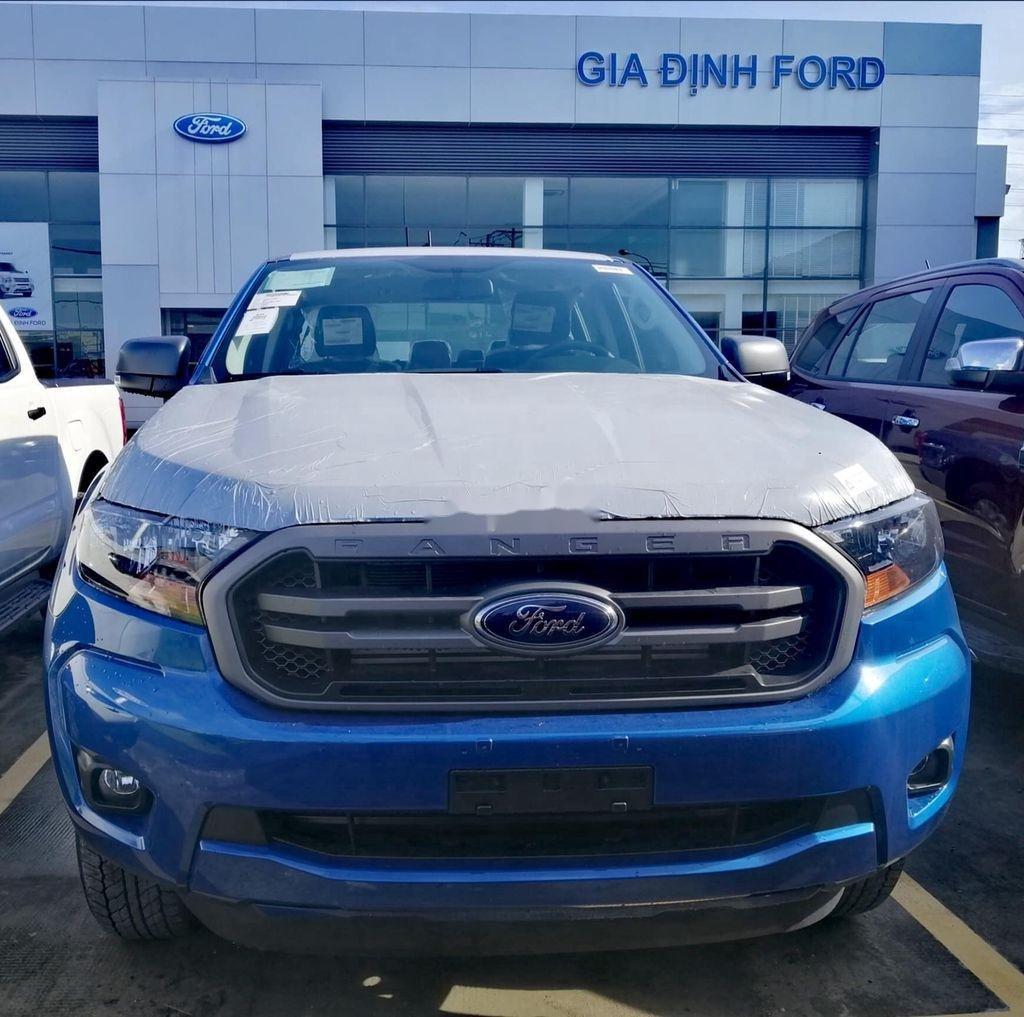 Bán Ford Ranger XLS 4x2 AT 2.2 năm 2020, màu xanh lam, nhập khẩu, mới 100% (5)