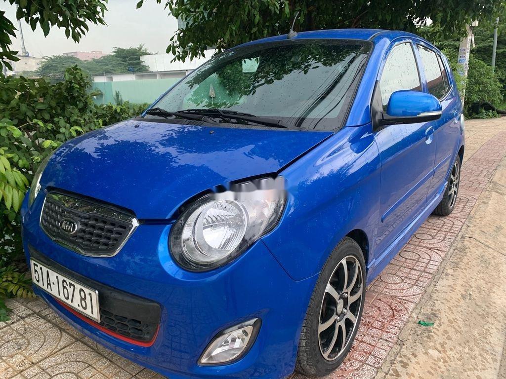 Gia đình bán xe Kia Morning đời 2011, màu xanh lam (2)