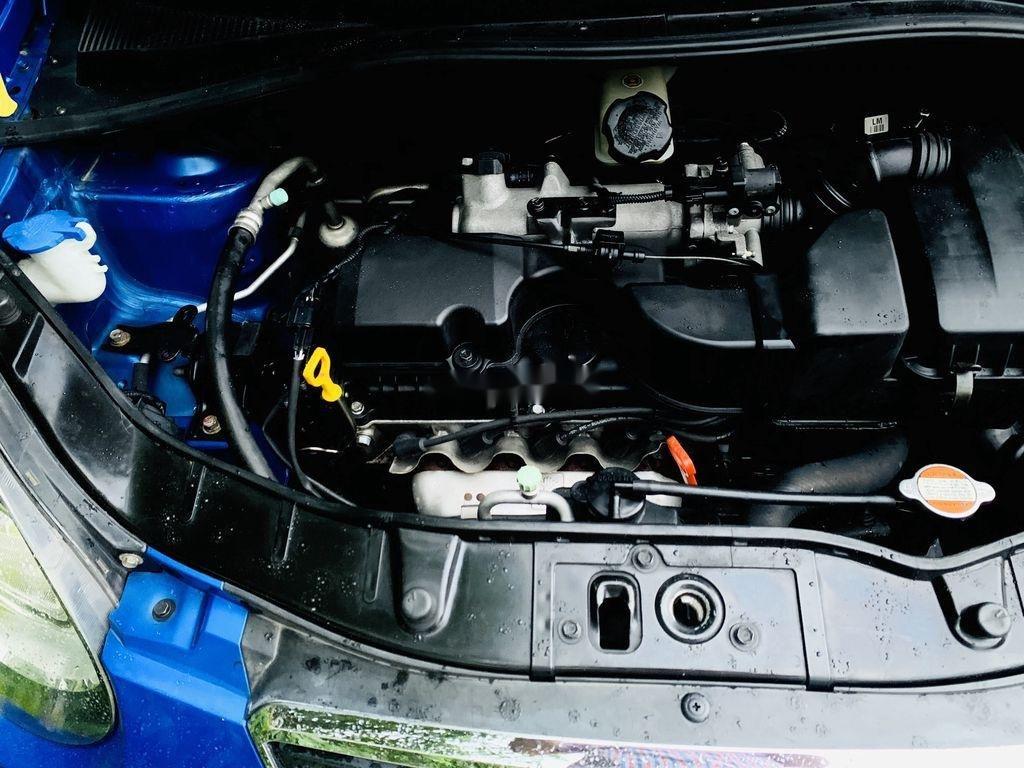 Gia đình bán xe Kia Morning đời 2011, màu xanh lam (7)