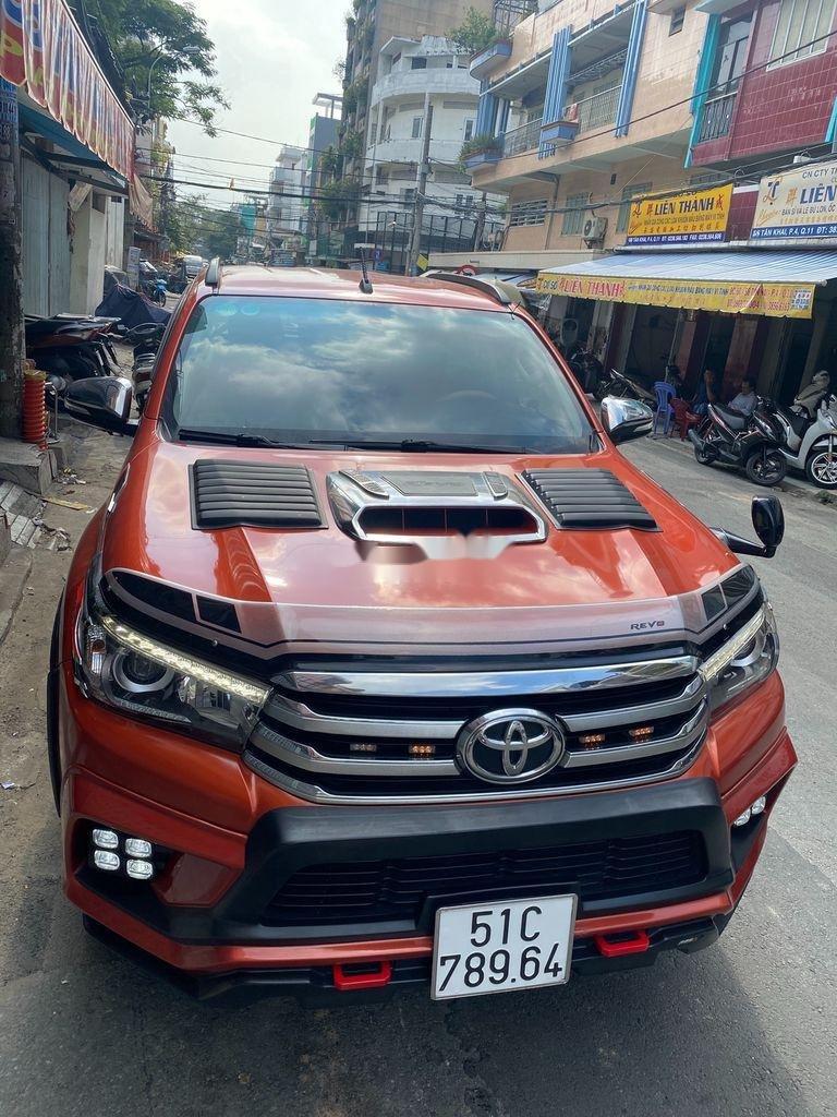 Bán Toyota Hilux 3.0G năm sản xuất 2016, màu đỏ, xe nhập   (9)