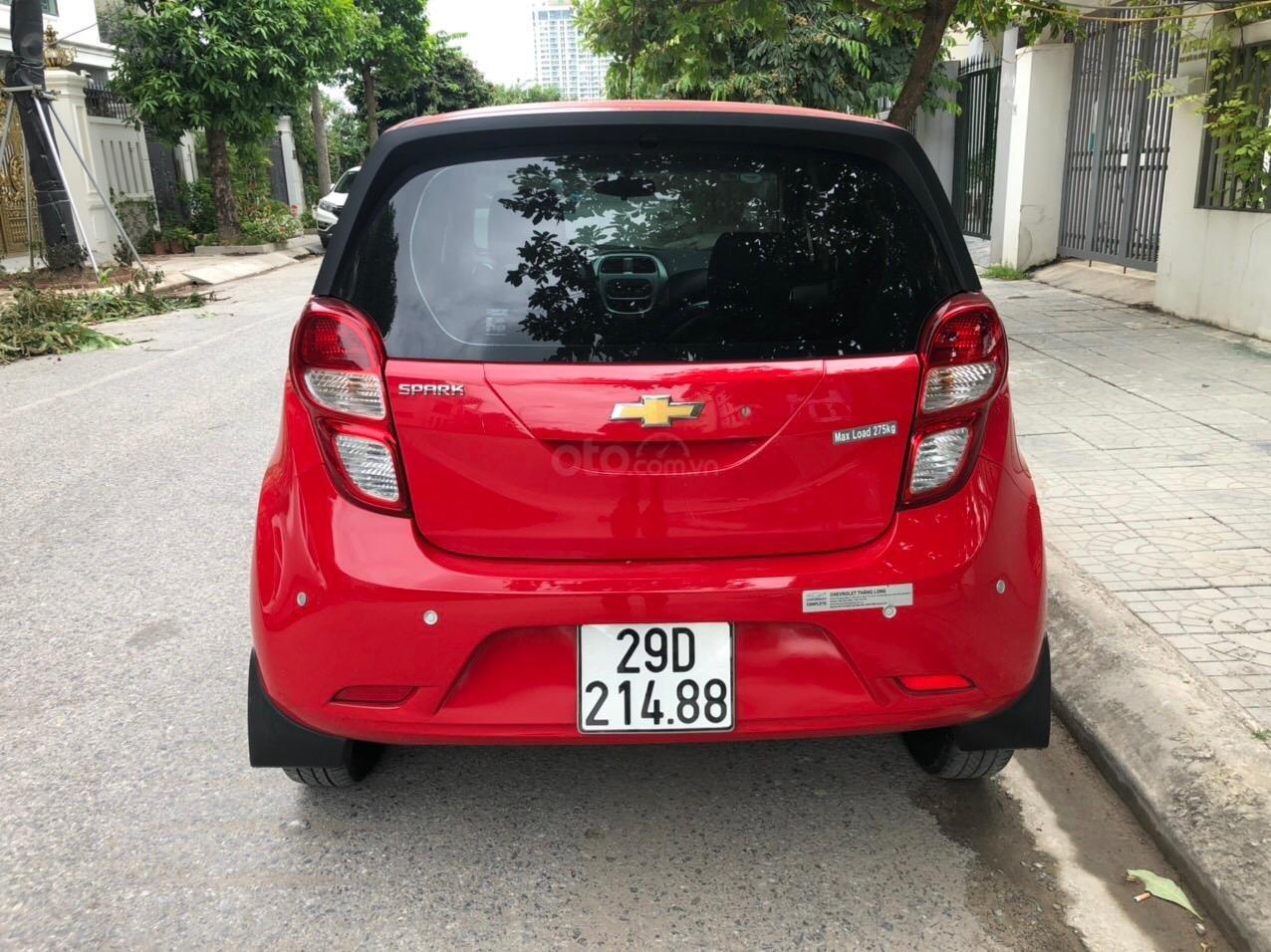 Bán xe Chevrolet Spark Van 2018 1.2 MT, 1 chủ cực đẹp (4)