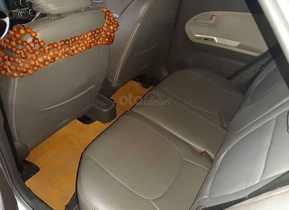 Bán xe Kia Morning năm sản xuất 2015, màu bạc (4)