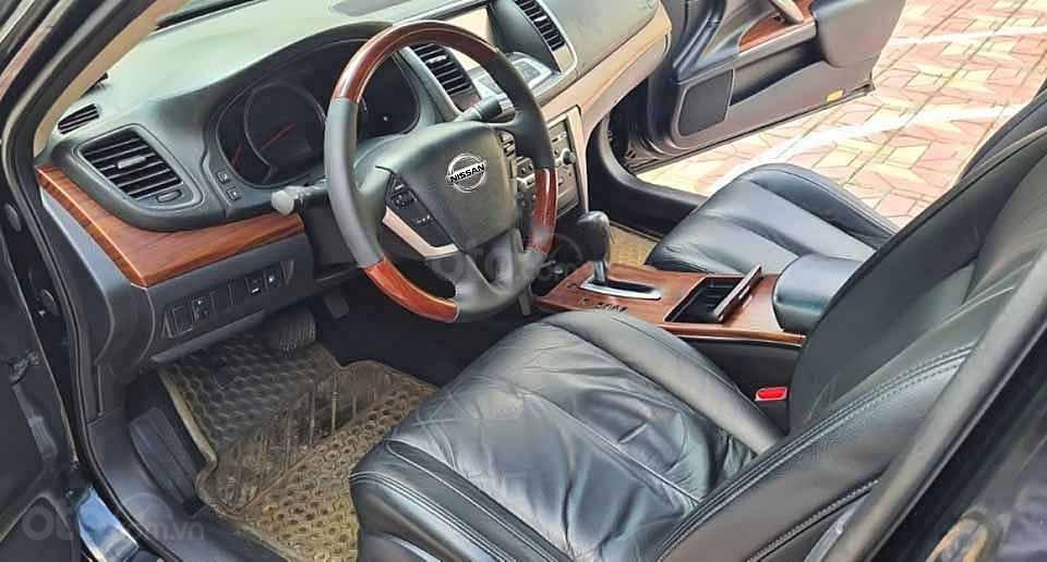 Cần bán lại xe Nissan Teana đời 2010, màu đen số tự động (2)