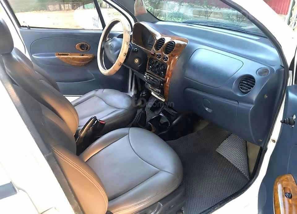 Cần bán Daewoo Matiz SE 0.8 MT năm sản xuất 2005, màu trắng còn mới, giá 54tr (2)