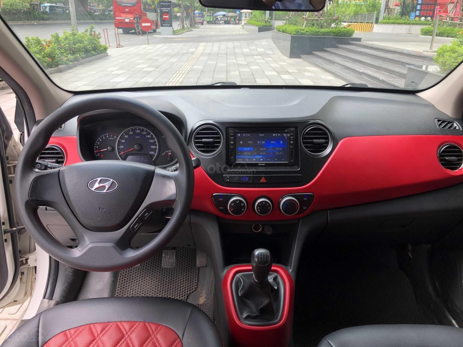 Bán ô tô Hyundai Grand i10, đăng ký 2017, màu trắng xe nhập. Giá chỉ 265 triệu đồng (4)