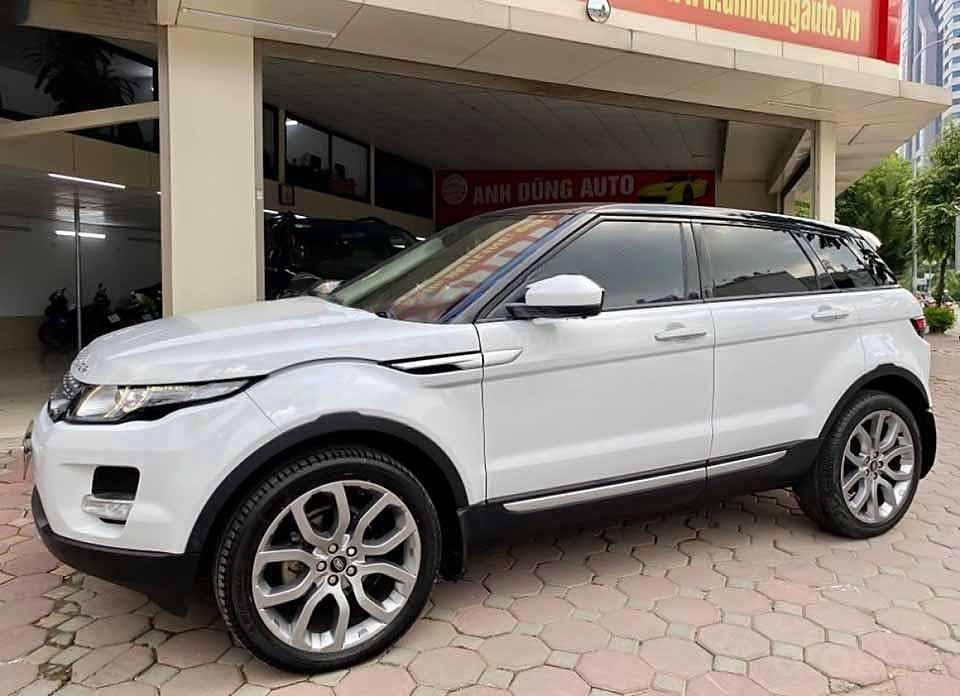 Cần bán lại xe LandRover Range Rover năm 2014, màu trắng, nhập khẩu còn mới (1)