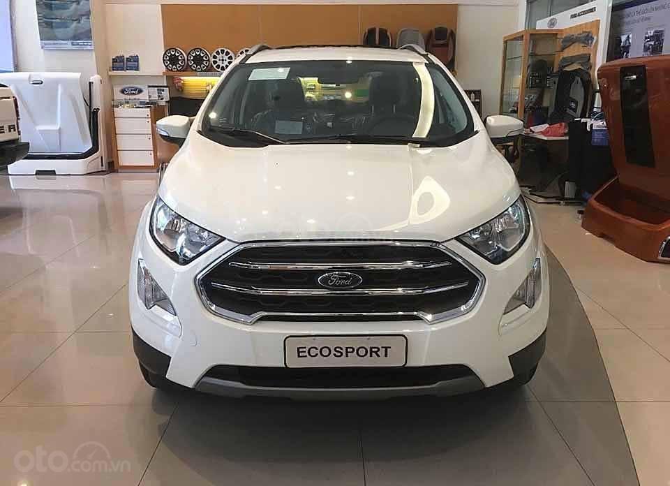 Bán ô tô Ford EcoSport Titanium 1.5L AT sản xuất 2020, màu trắng  (3)