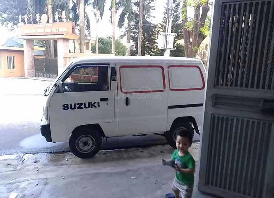 Cần bán gấp Suzuki Blind Van 2015, màu trắng còn mới, giá tốt (4)