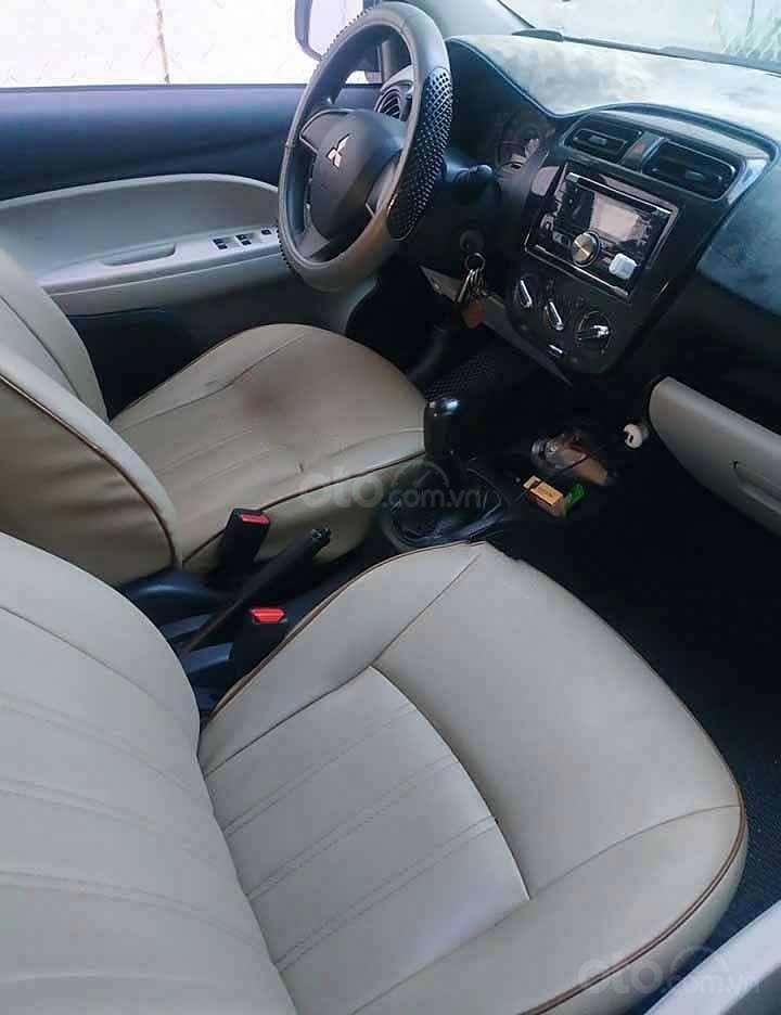 Bán ô tô Mitsubishi Attrage năm 2018, màu bạc còn mới, giá 288tr (4)