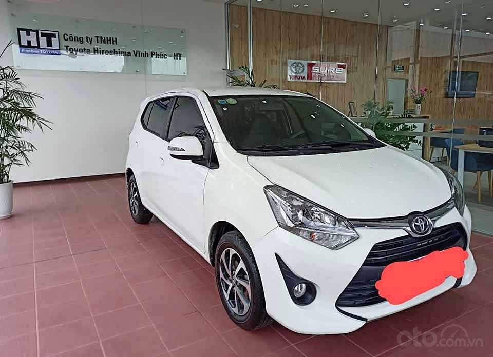 Xe Toyota Wigo 1.2G AT 2019, màu trắng, xe nhập  (2)