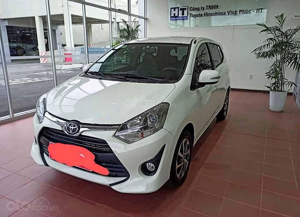 Xe Toyota Wigo 1.2G AT 2019, màu trắng, xe nhập  (1)