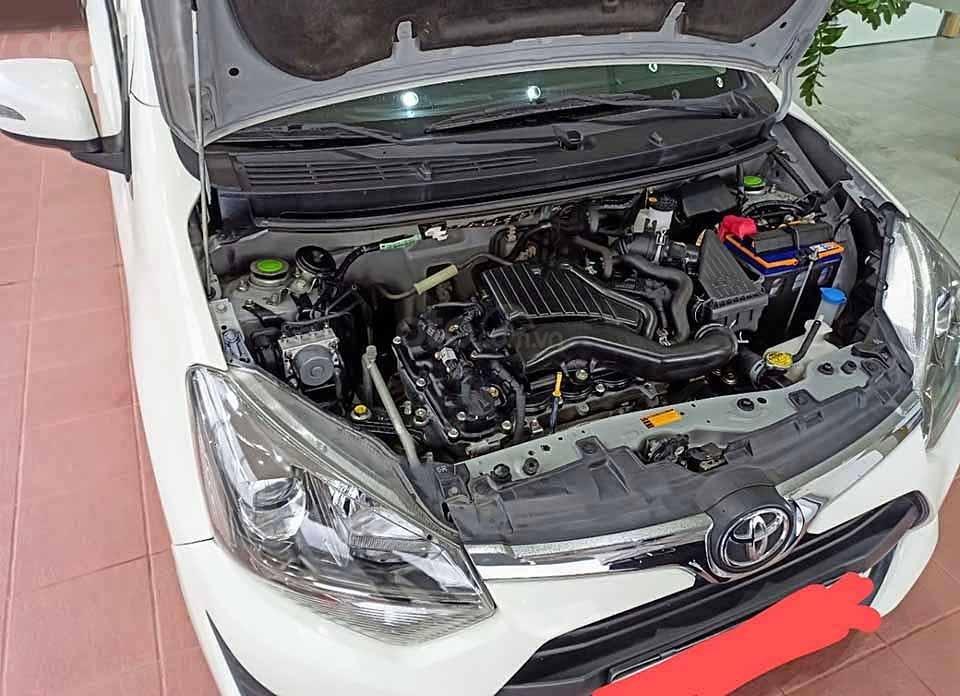 Xe Toyota Wigo 1.2G AT 2019, màu trắng, xe nhập  (6)