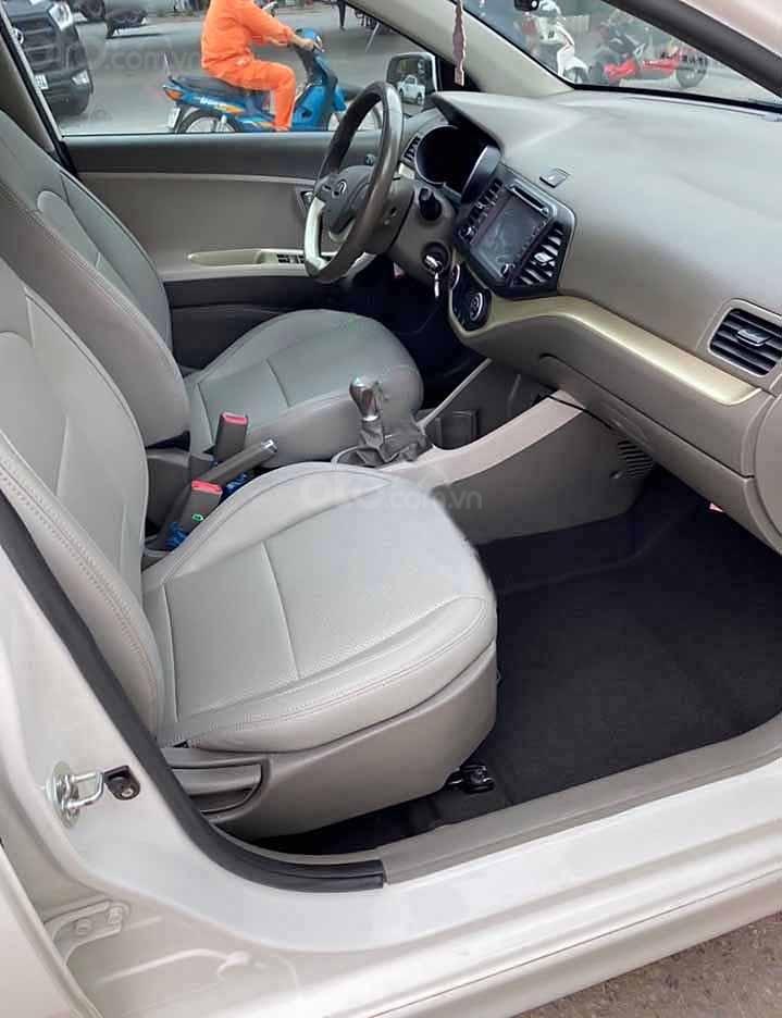 Bán ô tô Kia Morning năm sản xuất 2018, màu trắng còn mới   (3)