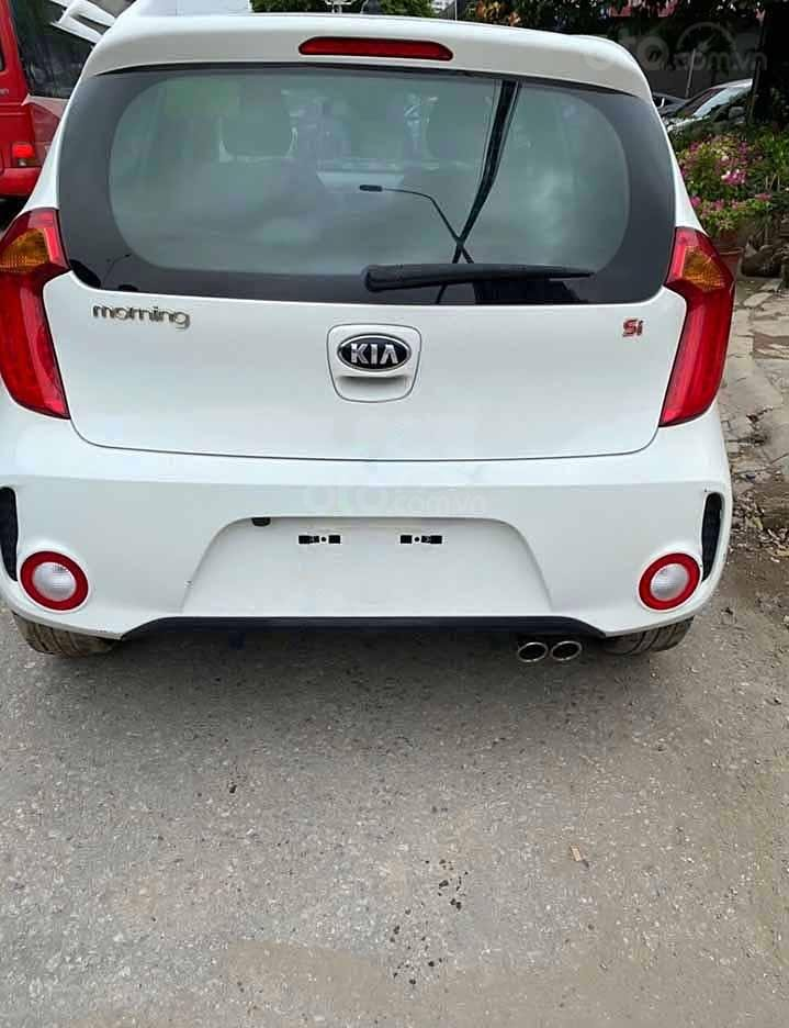 Bán ô tô Kia Morning năm sản xuất 2018, màu trắng còn mới   (2)