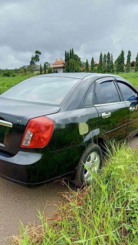 Bán xe Daewoo Lacetti đời 2008, màu đen (10)