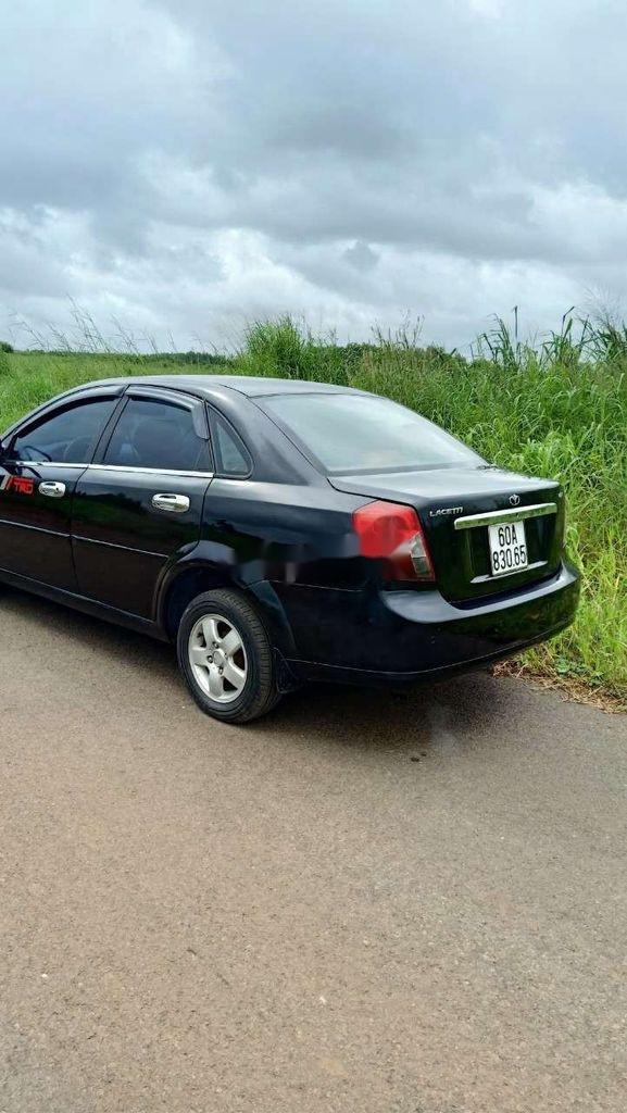 Bán xe Daewoo Lacetti đời 2008, màu đen (12)