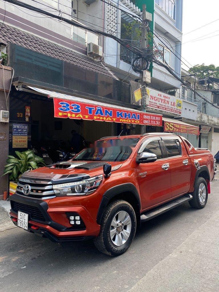 Bán Toyota Hilux 3.0G năm sản xuất 2016, màu đỏ, xe nhập   (3)