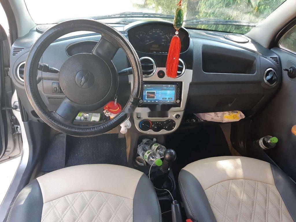Bán Chevrolet Spark đời 2009, màu bạc  (2)