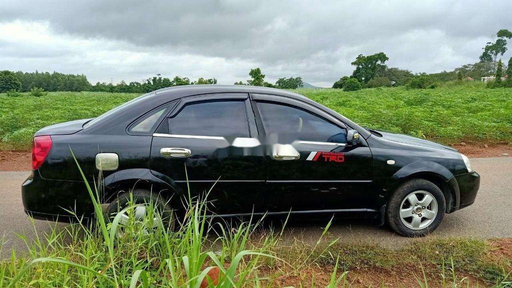 Bán xe Daewoo Lacetti đời 2008, màu đen (4)