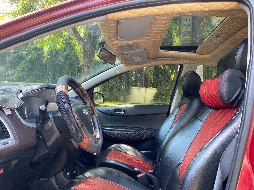 Bán Hyundai i20 sản xuất 2011, màu đỏ, nhập khẩu số tự động (7)