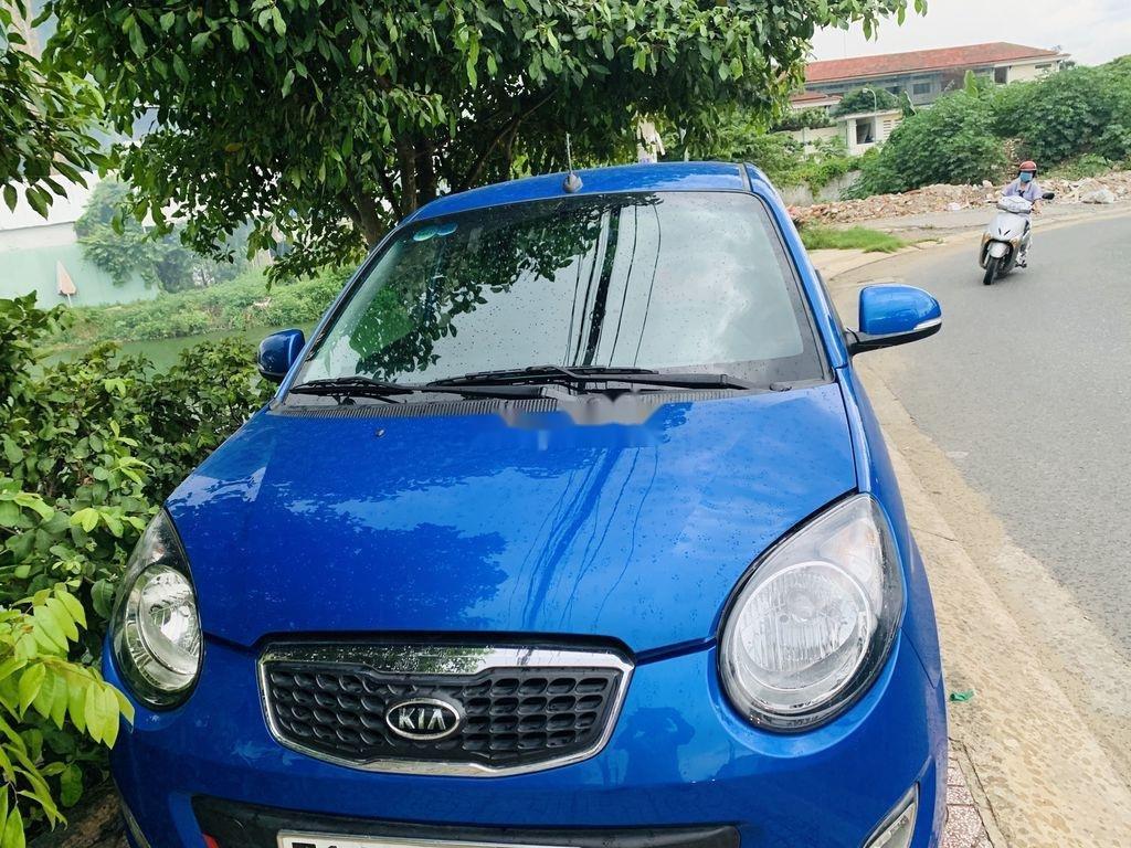Gia đình bán xe Kia Morning đời 2011, màu xanh lam (1)