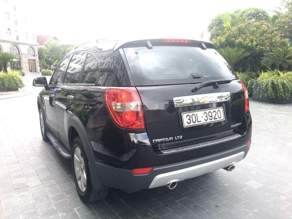 Bán xe Chevrolet Captiva đời 2008, màu đen chính chủ, giá 269tr (7)