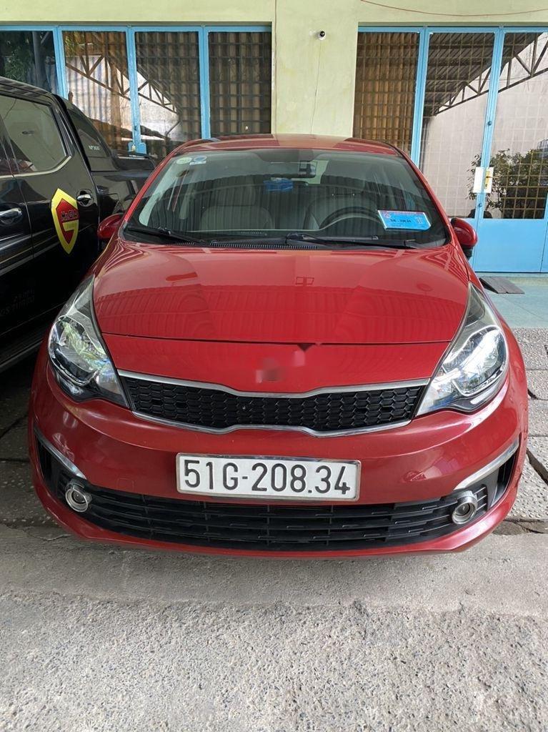 Chính chủ bán Kia Rio 2016, màu đỏ, nhập khẩu nguyên chiếc (1)