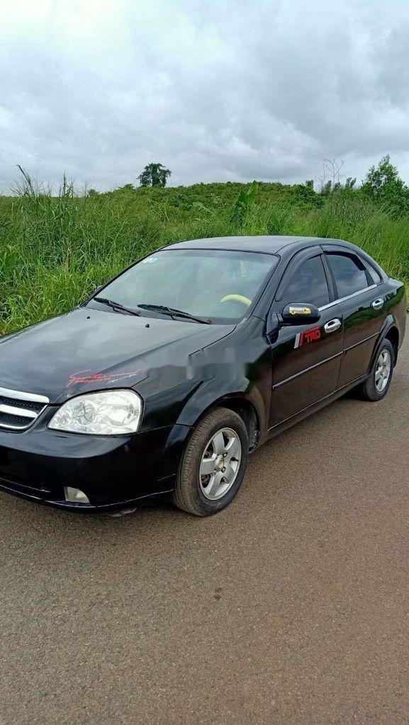 Bán xe Daewoo Lacetti đời 2008, màu đen (11)