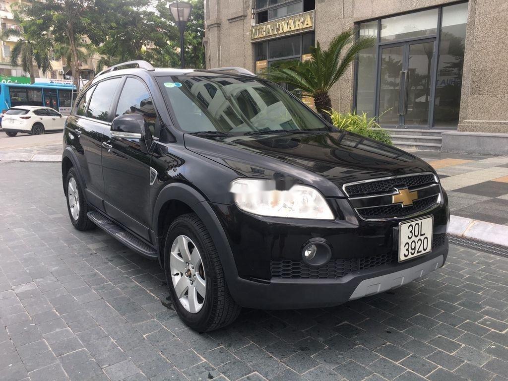 Bán xe Chevrolet Captiva đời 2008, màu đen chính chủ, giá 269tr (1)