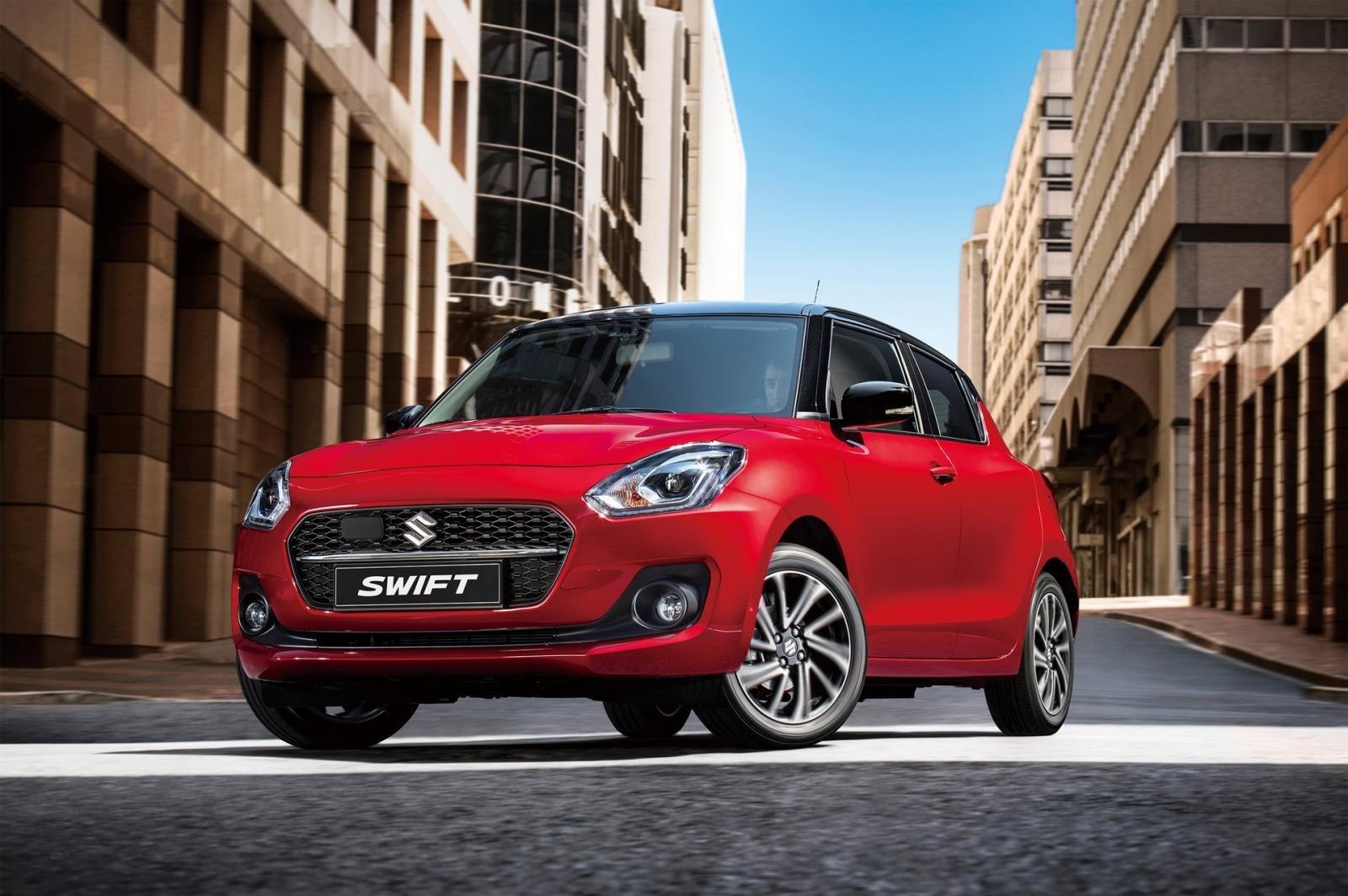 Suzuki Swift 2021 nâng cấp giữa vòng đời.