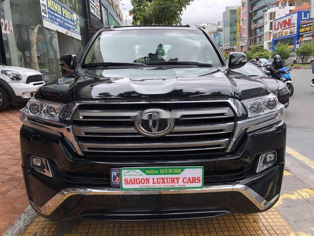 Bán Toyota Land Cruiser đời 2018, màu đen, siêu hiếm, cực chất (5)