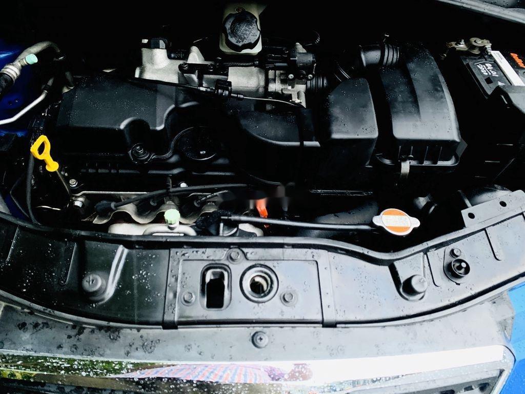 Gia đình bán xe Kia Morning đời 2011, màu xanh lam (9)