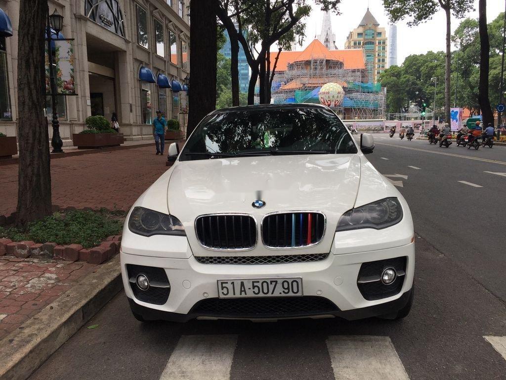 Bán BMW X6 đời 2009, màu trắng, nhập khẩu, bản full đồ (1)