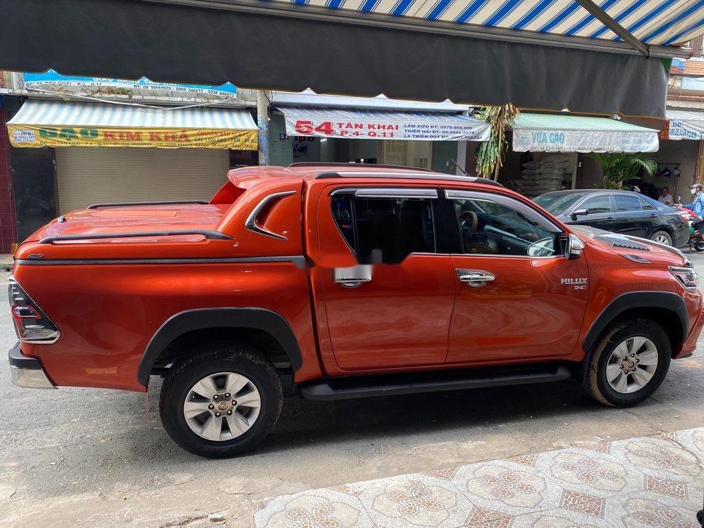 Bán Toyota Hilux 3.0G năm sản xuất 2016, màu đỏ, xe nhập   (8)