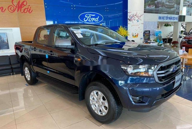 Bán Ford Ranger 2020, màu xanh lam, nhập khẩu nguyên chiếc, nhiều ưu đãi (3)