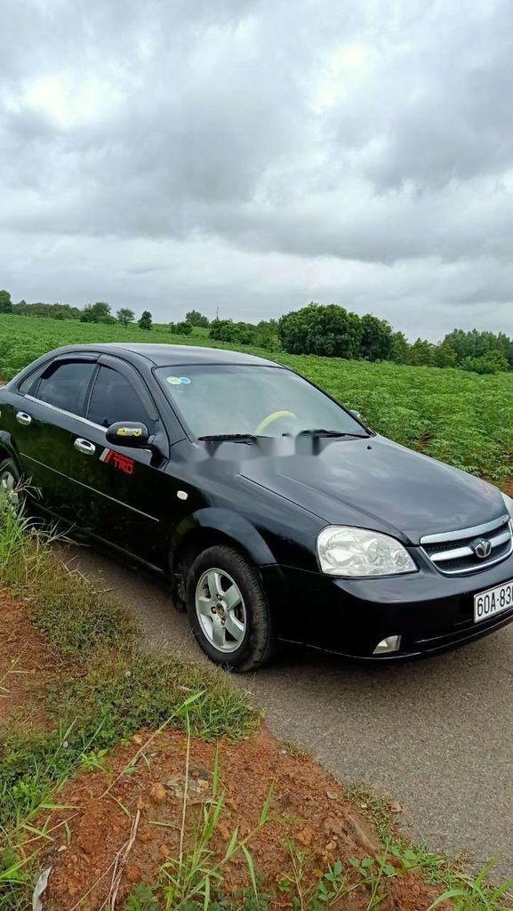 Bán xe Daewoo Lacetti đời 2008, màu đen (3)