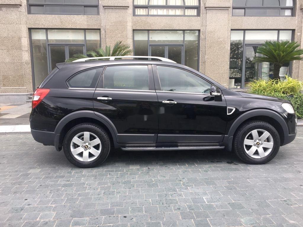 Bán xe Chevrolet Captiva đời 2008, màu đen chính chủ, giá 269tr (5)