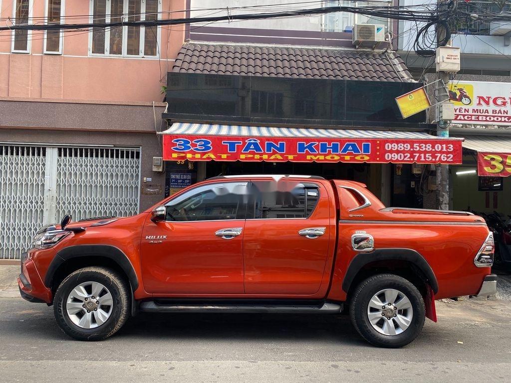 Bán Toyota Hilux 3.0G năm sản xuất 2016, màu đỏ, xe nhập   (1)