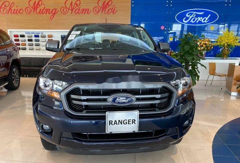 Bán Ford Ranger 2020, màu xanh lam, nhập khẩu nguyên chiếc, nhiều ưu đãi (2)