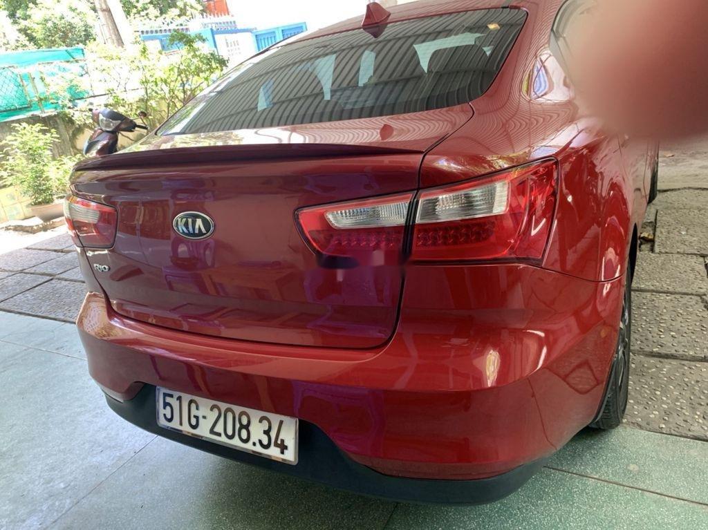 Chính chủ bán Kia Rio 2016, màu đỏ, nhập khẩu nguyên chiếc (4)