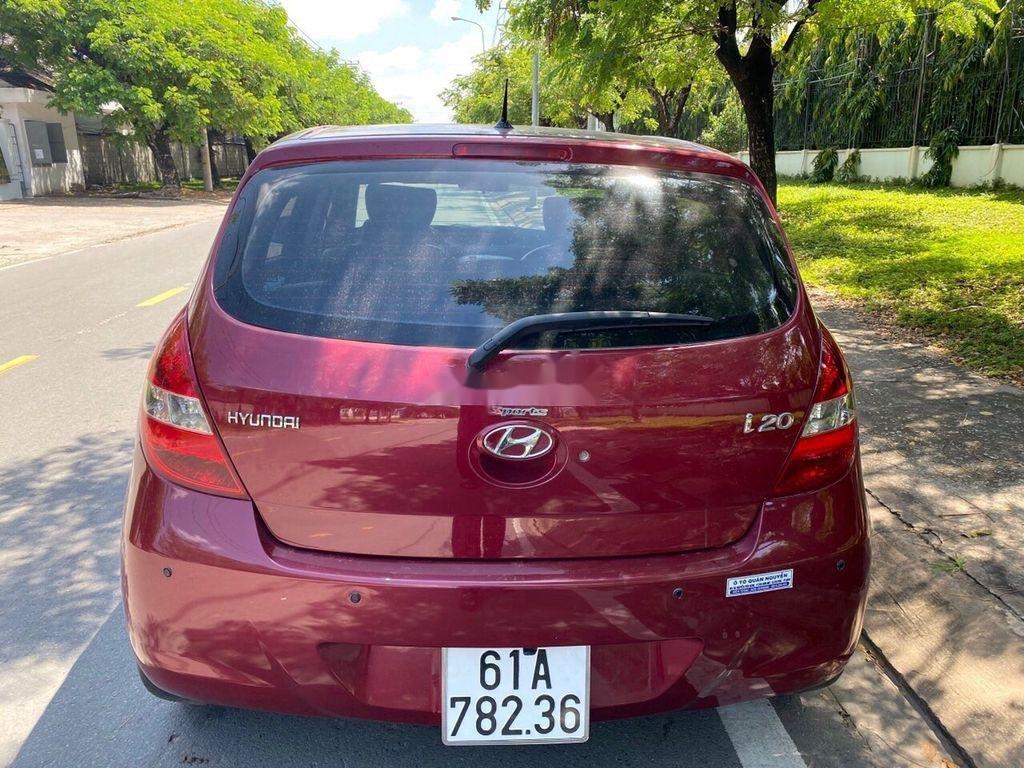 Bán Hyundai i20 sản xuất 2011, màu đỏ, nhập khẩu số tự động (3)
