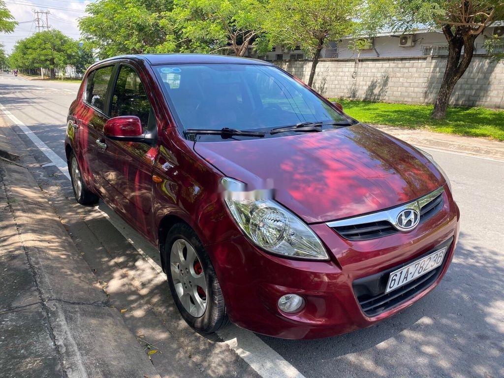 Bán Hyundai i20 sản xuất 2011, màu đỏ, nhập khẩu số tự động (2)