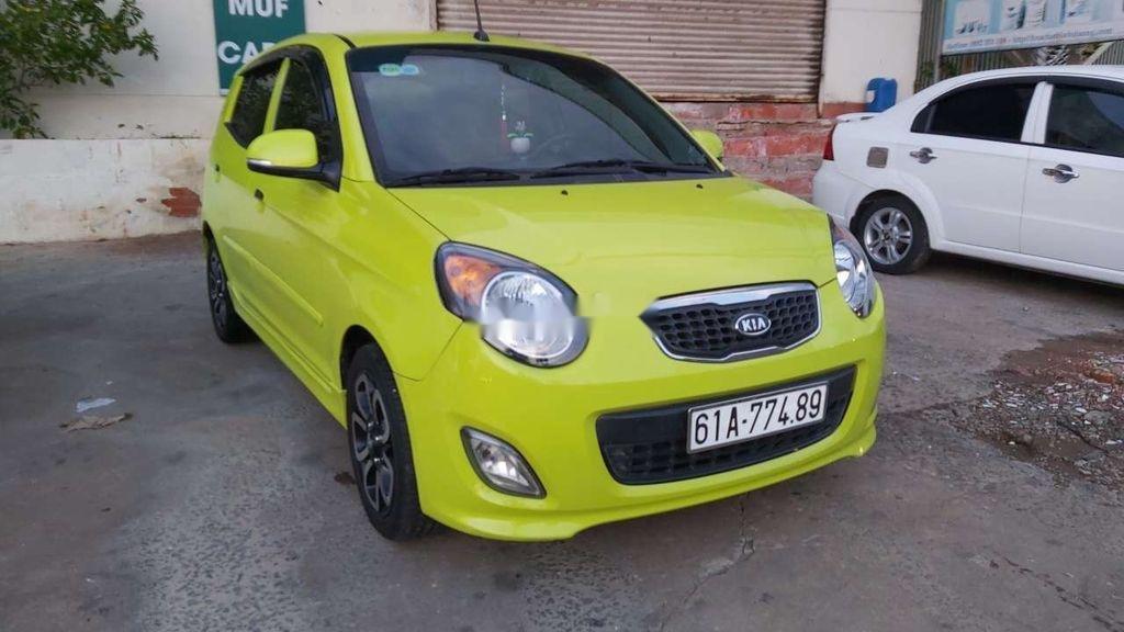 Cần bán Kia Morning 2009, màu vàng chanh, nhập khẩu nguyên chiếc (3)