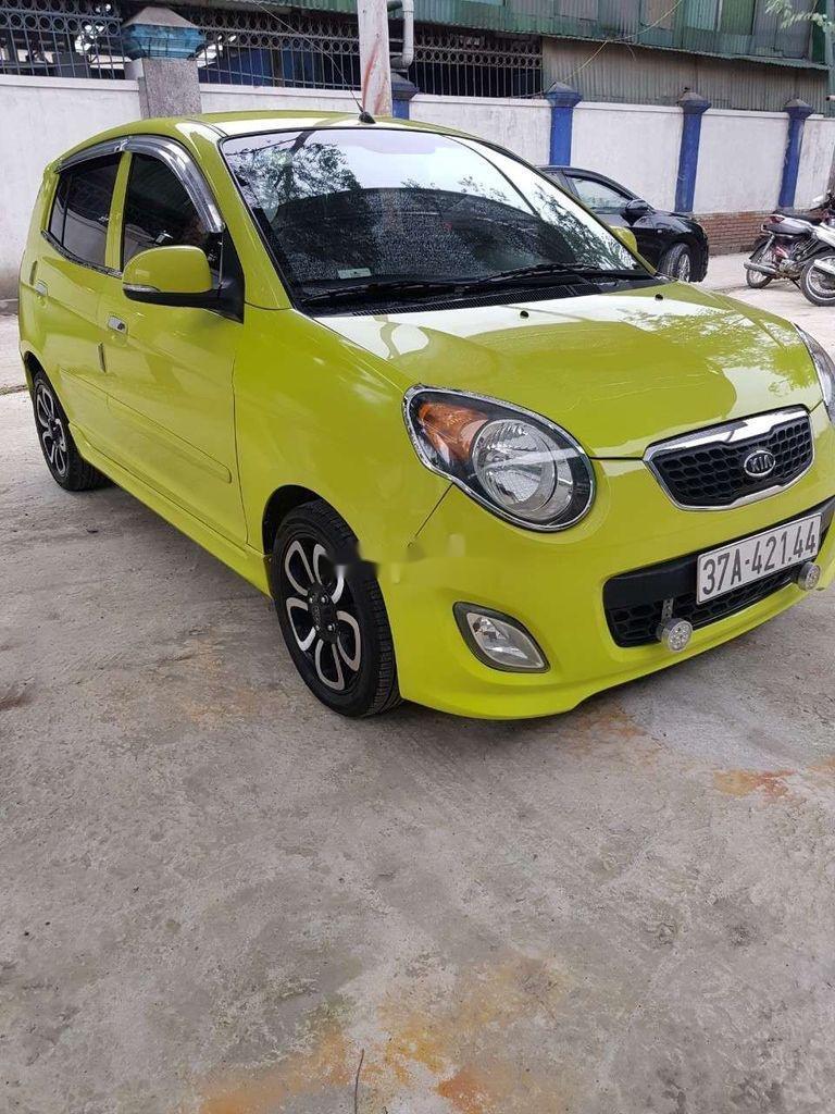 Bán ô tô Kia Morning sản xuất 2009, màu vàng, xe nhập  (1)